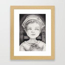 """""""Memento Mori I"""" Framed Art Print"""