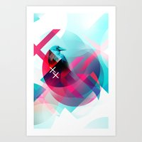 the xx Art Prints featuring XX by NewFoundBrand