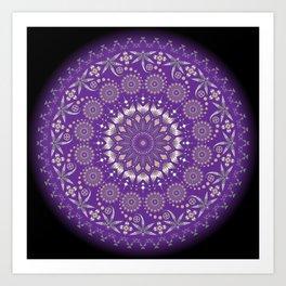 Ancestors (Purple) Art Print