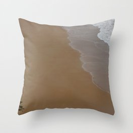 Biarritz, France - The Search Throw Pillow
