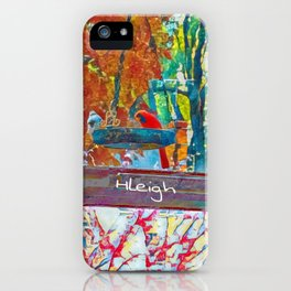 Cardinal and Finch iPhone Case