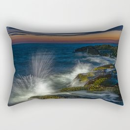 Peggys cove sunset Rectangular Pillow