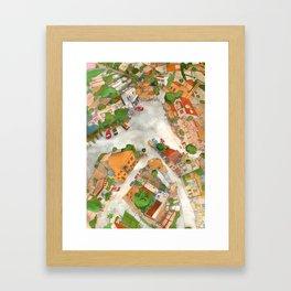Tala Square Framed Art Print