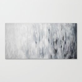 Soir d'hiver Canvas Print