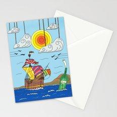 OLD BOY PIRATE Stationery Cards