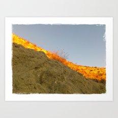 Sol, tierra y cielo Art Print