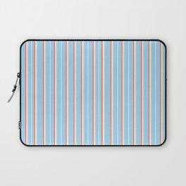 Blue Stripe Pattern Laptop Sleeve
