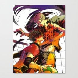 Haikyuu: Kuroo and Tsukishima Kei Canvas Print
