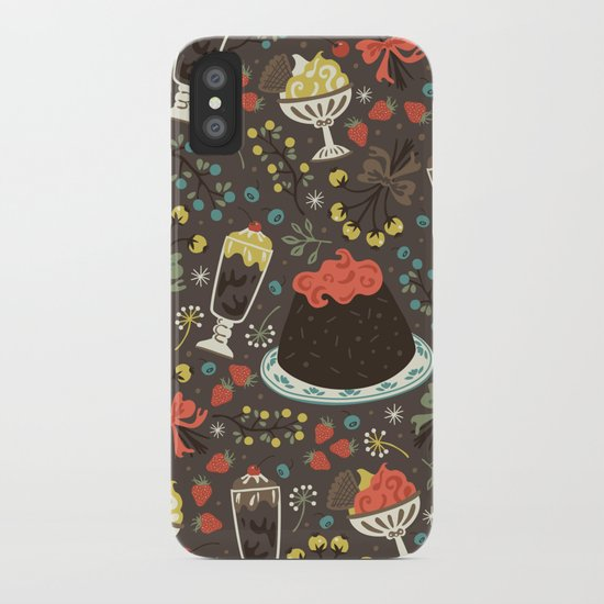 Sweet Deserts  iPhone Case