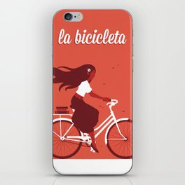 La Bicicleta iPhone Skin