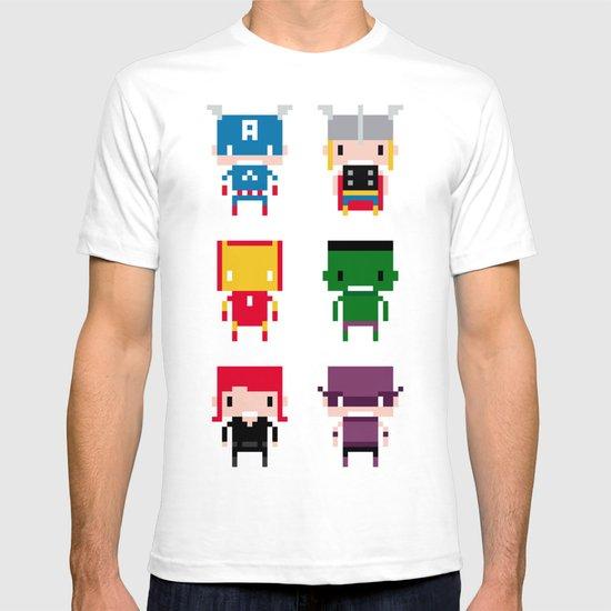 Pixel Avengers T-shirt