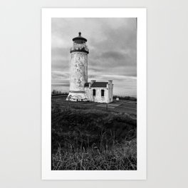 North Shore Lighthouse Art Print
