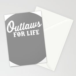 Outlaws For Life Stationery Cards