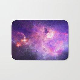 Purple space Bath Mat