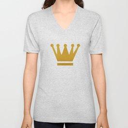 Crown Unisex V-Neck