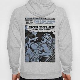 Vintage 1999 Bob Dylan Atlantic City Concert Poster Hoody