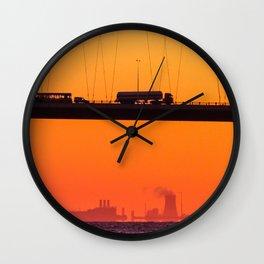 Working Dawn Wall Clock