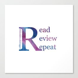 Read, Review, Repeat Canvas Print