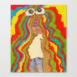 FRY GUY Canvas Print