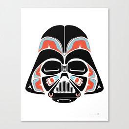 Death Mask - Alliance Is Rebellion - Darth Vader Canvas Print