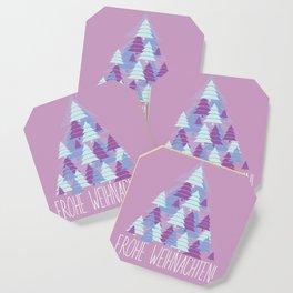 Christmas card Tree Coaster