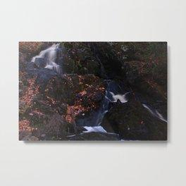 Waterfall Wyandotte Falls, MI Metal Print