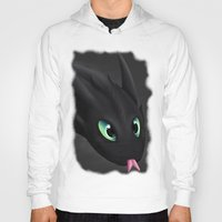 toothless Hoodies featuring Toothless by Alkraas