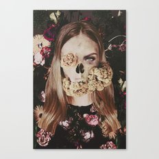 Deadly Girl Canvas Print