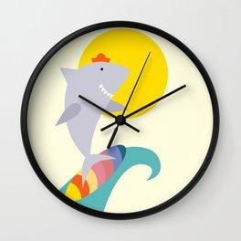 sea shark Wall Clock