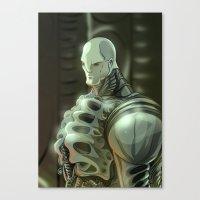 prometheus Canvas Prints featuring Prometheus by Kaan Demircelik