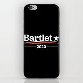 bartlet iPhone Skin