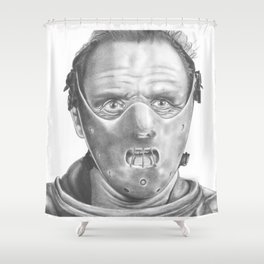 Lecter Shower Curtain