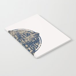 Blue Squircle Notebook