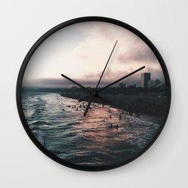 ef·fer·ves·cent Wall Clock