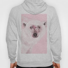 Polar Bear in Pink Hoody