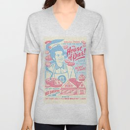 House of Pies Unisex V-Neck