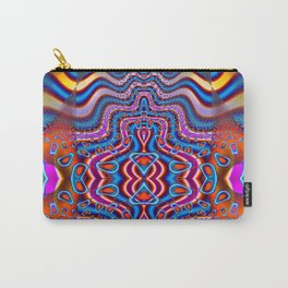 Space Cadet Psychedelic Fractal Carry-All Pouch