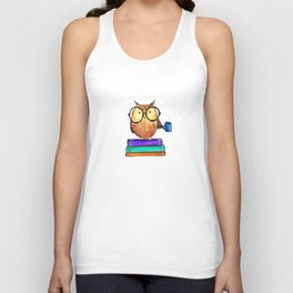Oliver the Owl Unisex Tank Top