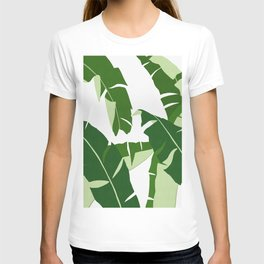 Tropical leaf XX T-shirt
