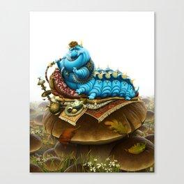 The Caterpillar Canvas Print