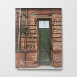 Faded Entry Metal Print