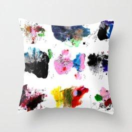9 abstract rituals (2) Throw Pillow