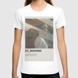 Ex Machina Minimal Movie Poster No 03 T-shirt
