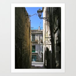 Antique Alley - Palermo - Sicily Art Print