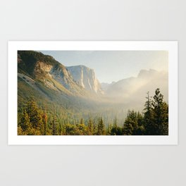 Yosemite, California Art Print
