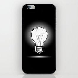 Light lamp iPhone Skin
