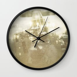 Spring Sessions Wall Clock