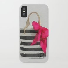 French Outing  Slim Case iPhone X