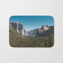 Tunnel View, Yosemite National Park V Bath Mat