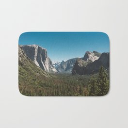 Tunnel View, Yosemite National Park V Bath Mat